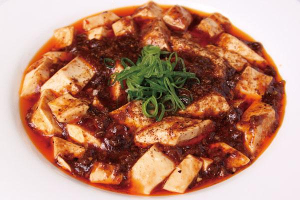 白金亭_麻婆豆腐